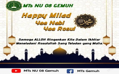Happy Milad Yaa Rosululloh
